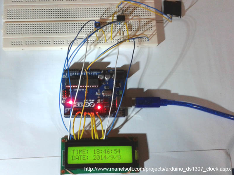 Arduino ds clock