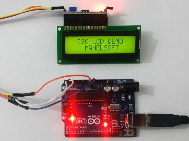 Arduino I2C LCD