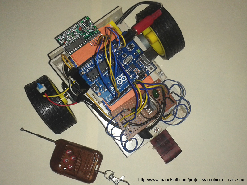 Control arduino by bluetooth
