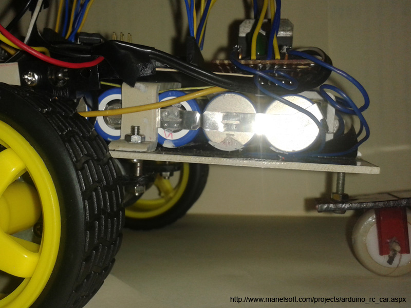 Arduino rc car project